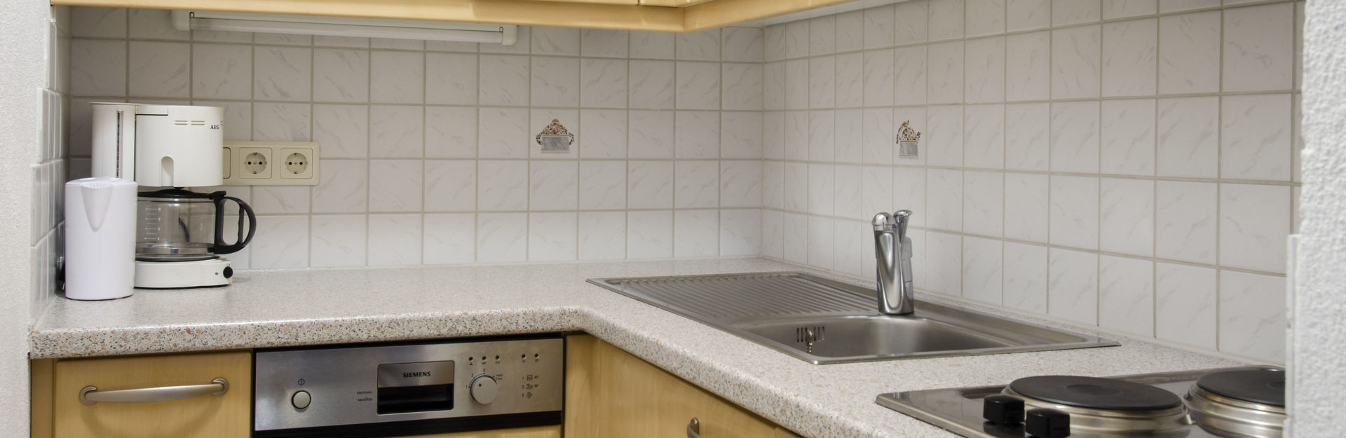Kitchen  Apartment Ischgl Hotel Garni Golfais ,