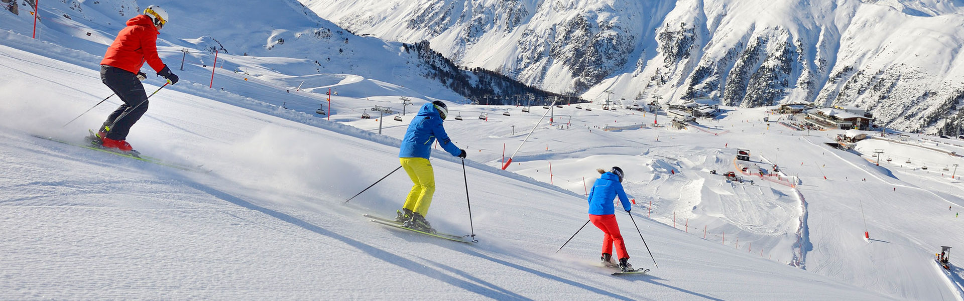 Wintersport in Ischgl,